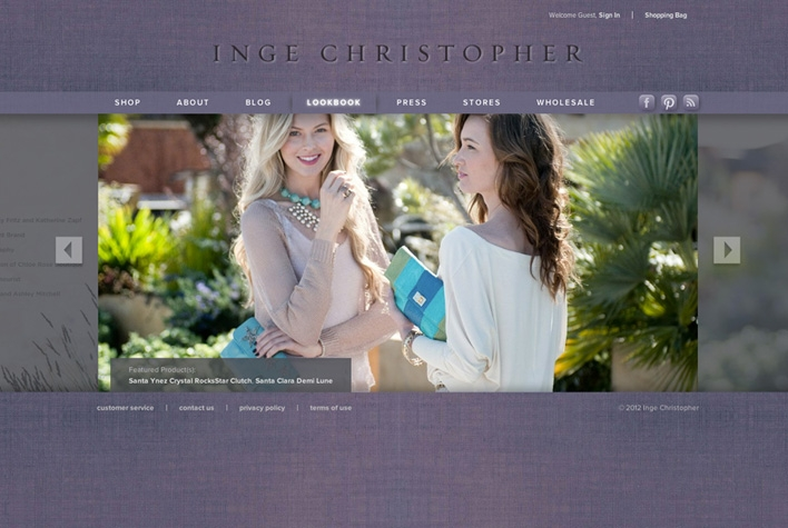 Inge Christopher Lookbook