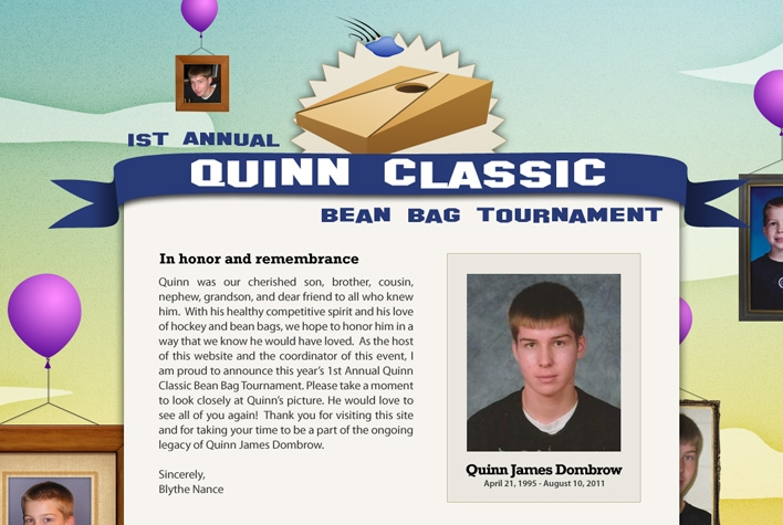 Quinn Classic Bean Bag Tournament