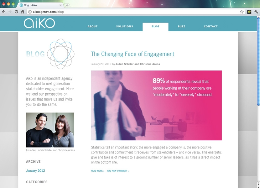 Aiko Blog Page