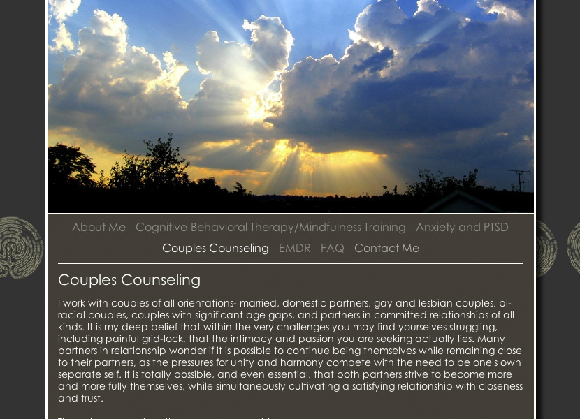 Kathryn Hirt - Couple Counsiling