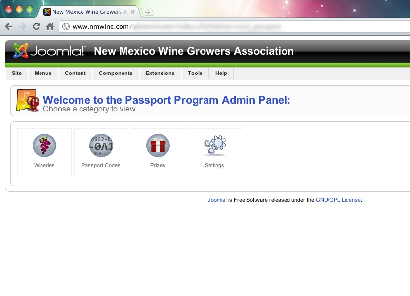 NMWGA Passport Admin Interface
